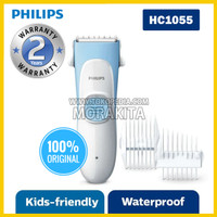 PHILIPS HC1055 KID FRIENDLY HAIR CLIPPER CUKUR RAMBUT ANAK HC 1055