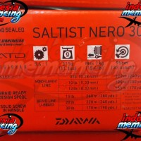Reel Pancing DAIWA SALTIST NERO 3000