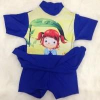 Baju renang/diving model rok untuk anak sd ukuran XL Murah