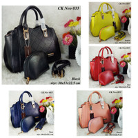 Tas Fashion Wanita CK 033 Neo Set Dompet Handbag