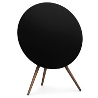BeoPlay A9 - Black with Walnut Legs