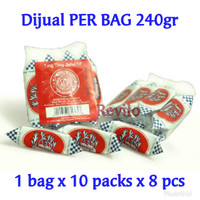 Ting Ting Jahe Sin A 1P *PER BAG 240gr* Ginger Chew Candy Revilo