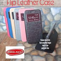 Samsung Galaxy J4 2018 Flip Cover Leather Case Sarung Buka Tutup HP