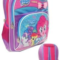 Harga promo tas ransel sekolah anak little pony pita bahan saten | Pembandingharga.com