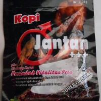 Kopi-Jantan plus Ginseng korea + Tongkat Ali penambah vitalitas sachet