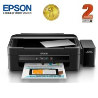 Epson Printer Multifungsi L380 - Hitam (Print, Scan, Copy)