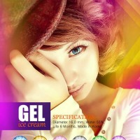 Murah Softlens Gel Ice Cream Kotak 6 Bulan Soft Lens Gel ice Cream d
