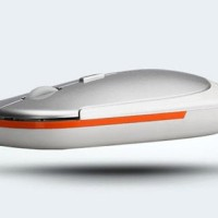 Mouse Wireless Magic Ultra Slim 2.4Ghz Mirip Rapoo 3500 White.Silver