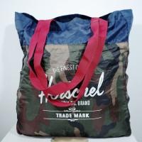 Tas Tote Bag Herschel Camo navy -