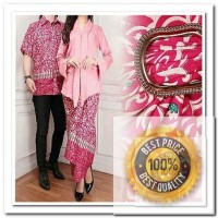 wilujeng online shop BATIK COUPLE CHARSA (DAPAT SEPASANG KEMEJA BATIK