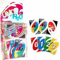 Harga uno card kartu waterproof h2o   Pembandingharga.com