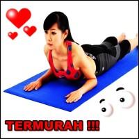 Matras yoga / yoga mat outdoor indoor senam olahraga murah - HPO008