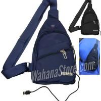 Sling Bag / Tas Selempang USB Diagonal