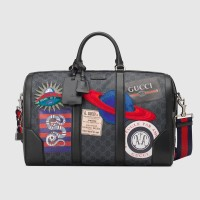 GUCCI NIGHT COURIER SOFT GG SUPREME CARRY ON DUFFLE BAG ORIGINAL