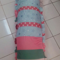 Sarung Bantal Poligami Panjang 180 cm Cover Body Bolster Pillow