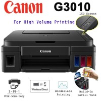 Printer Canon G3010 Wireless All In One Infus Original