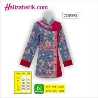 Blus Batik, Busana Batik Modern, Model Baju Kerja Wanita, CB295BKE