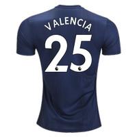 Jersey Bola VALENCIA #25 Manchester United Third 2018-2019 Grade Ori