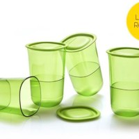 Crystalline Glass (4) Gelas Tupperware