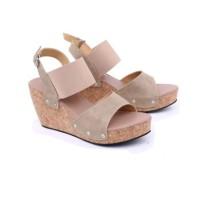 Harga sandal wedges wanita sandal pesta cewek gs sandal casual | antitipu.com