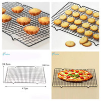 Rak pendingin kue roti cake bolu cooling rack alat dekorasi kue cetaka