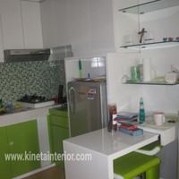 Kitchen set kecil utk apartment duco hpl