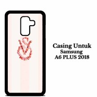 Casing SAMSUNG A6 PLUS 2018 victoria secret logo Hardcase Custom Case