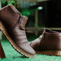 Sepatu Boots Resleting Pria Moofeat Original Nike Converse