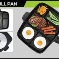 Alat Panggangan Panci 5 In 1 Panci Pengorengan Grill PAn Magic Pan