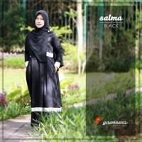 PROMO LIMITED Gamis Yasmeera Salma Series Black baju gamis wanita bus