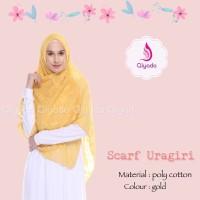 ORIGINAL EXCLUSIVE Qiyada Scarf Uragiri Gold hijab kerudung khimar ji