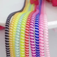 Pelindung Kabel Spiral 2 Warna One Tone - Cable Protector Good Quality