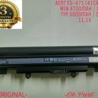 Baterai Battery Laptop Original Acer Aspire E14 E15 E4 E5 411 E5 421