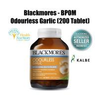 Jual Blackmores Odourless Garlic (200 Tablet) BPOM Kalbe ORI, Tidak Bau Murah
