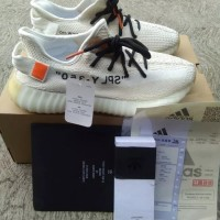 94d5e4ec1ae Off White X Adidas Yeezy Boost 350 Cream ORIGINAL UA PERFECK QUALITY