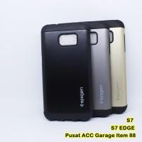 Casing hp Spigen Slim Armor Samsung S7 Flat S7 EDGE Case Softcase