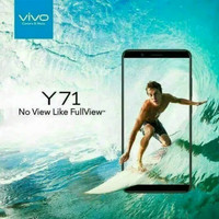 PROMO HP VI Y71 (VIVO Y 71 RAM 2/16 GB) BLACK - GOLD
