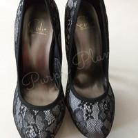 Jual Preloved / Second Sepatu Wanita High Heels EVB Murah