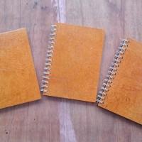 Note Book Coklat A5 polos