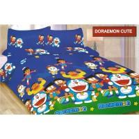 Bed Cover Set Sprei Bonita Motif Cute Doraemon Diskon
