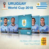 Kartu Bola Fezballer Cards edisi team URUGUAY World Cup 2018
