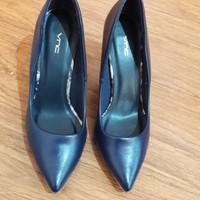 Jual Sepatu high heels navy vnc preloved / second / bekas nomor / ukuran 36 Murah