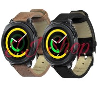 Strap Kulit Leather Band Smartwatch Samsung Gear Sport 2018 R600