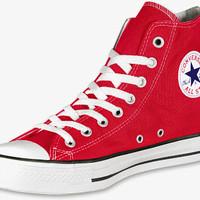 Sepatu converse all star chuck taylor tinggi merah