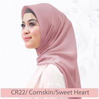 Corn Skin Square Hijab Segiempat