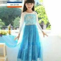 Dresses Anak Perempuan Dress Gaun Princess Pesta Ulang Tahun E AGA2343