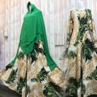 Gamis Wolfis Monalisa new motif limited edition harga spesial diskon
