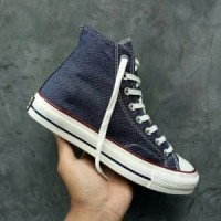 3d3df9a68131 Sepatu Converse All Star High Chuck Taylor 70s Navy Den Paling Laris