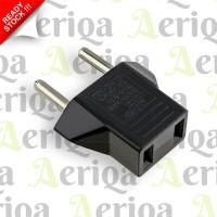 Adaptor Sambungan Xiaomi - Jack Charger - Plug Converter US to EU