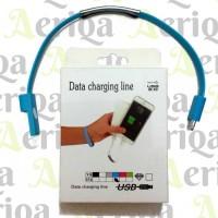 Bracelet Cable - Kabel Data Gelang Lightning - iPhone 5, 5s, 6, 6s etc